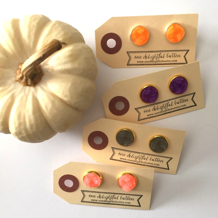 one delightful button trick or treat