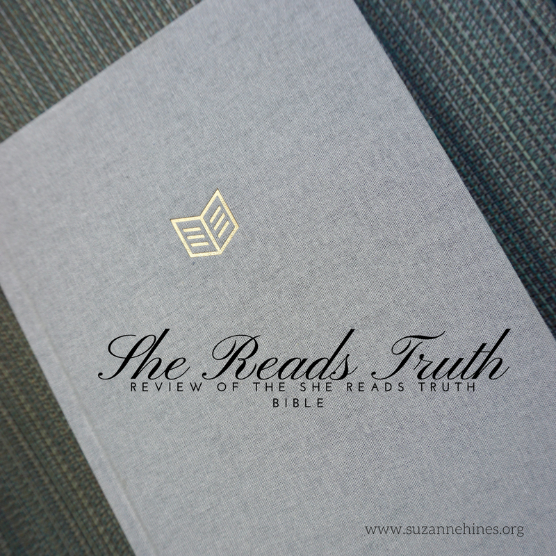 She Reads Truth Bible: A Review   The Glorious Mundane