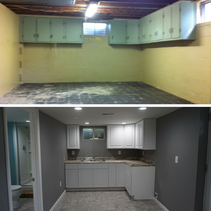 Basement Remodel: Before And After